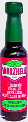 Würzheld® Original Flüssigwürze Neuartig, Vegan, Allergenfrei, Sojafrei - 95ml