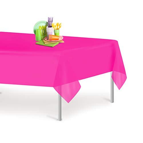 hot pink table cover - 4