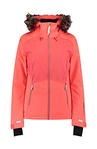 O'Neill Damen Halite Jacket Snow, Fiery Coral, S
