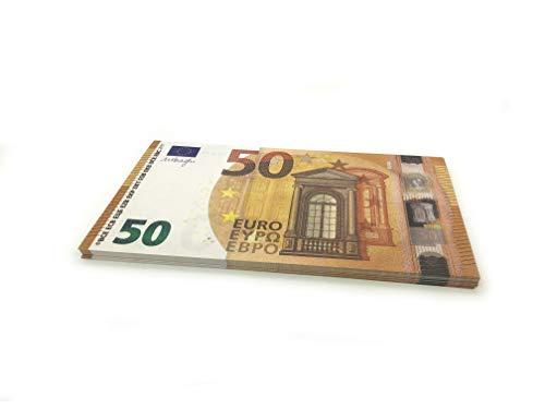 Cashbricks 75 x €50 Euro Spielgeld Scheine - vergrößert - 125{92163637bfaf38cb1edbe80d1000fafb004c282d86022a0132d9d005ddf23d12} Größe - 2017