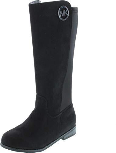 Michael Kors Girls Emma Lily Fashion Boots,Black,1