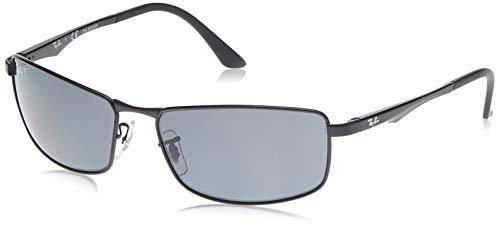 Ray-Ban Rb3498 - Gafas de sol unisex, Black, 61 mm