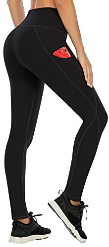 Ewedoos Leggings with Pockets for Women High Waisted Yoga Pants for Women with Pockets...