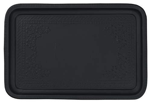 Ib Laursen TABLETT Table Ronde Noir 36 x 26,5 cm