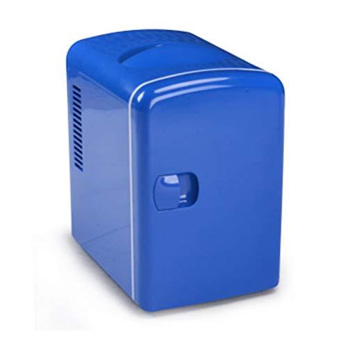 LQIQI Mini frigo Portatile per Auto Coca-Cola Blu Silenzioso Mini frigo Carino con congelatore
