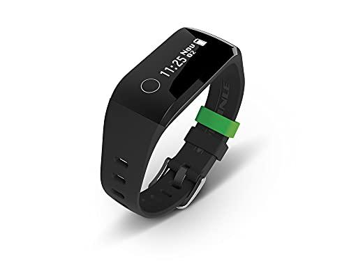 Soehnle Fit Connect 200 HR Pulsera de Actividad con Bluetooth, Negro, One Size