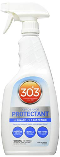303 UV Protectant Spray - Ultimate UV Protection - Helps Prevent Fading And Cracking - Repels Dust, Lint, and Staining - Restores Lost Color And Luster, 32 fl. oz. (30313CSR)