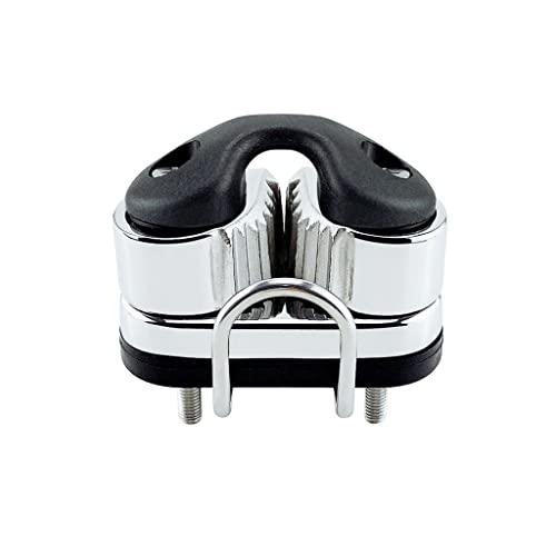 Accesorios de hardware 316 Bola de acero inoxidable Rodamiento de leva Pendientes Equipo Pilates Barco marino Entrada rápida Cuerda Cuerda Fairlead Velero Accesorios ( Size : With guide ring )