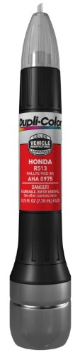 Dupli-Color AHA0975 Metallic Rally Red Honda Exact-Match Scratch Fix All-in-1 Touch-Up Paint - 0.5 oz.