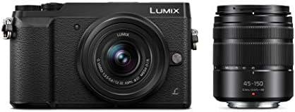 Panasonic LUMIX GX85 4K Digital Camera, 12-32mm and 45-150mm Lens Bundle, 16 Megapixel Mirrorless Camera Kit, 5 Axis...