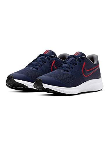 Nike Star Runner 2 (GS) Zapatillas para niños Azul Size: 38 EU