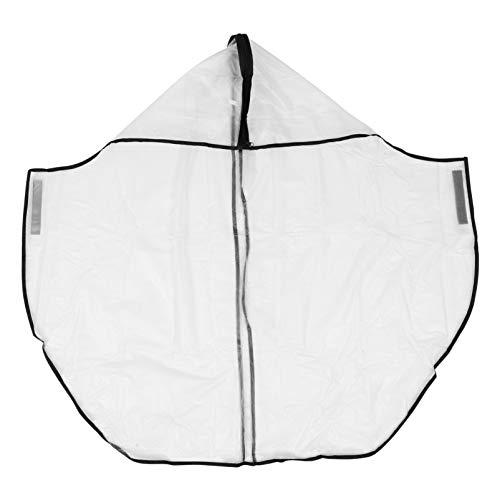 CLISPEED Bolsa de Golf Cubierta de Lluvia de Plástico Transparente Impermeable Golf Push Carts Cubierta de Protección para Todas Las Condiciones Meteorológicas Garaje Suministro de