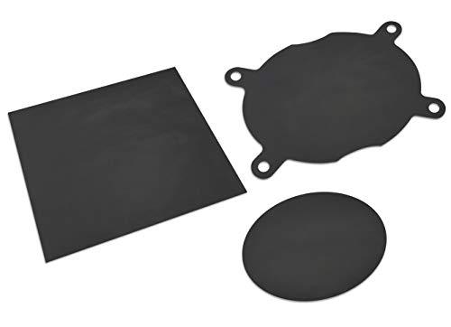 Supremery Premium Dauerbackfolie für Thermomix 3er Set passend für Varoma Einlegeboden und Backofen-Optimales Zubehör für Thermomix TM6 TM5 TM31-5 - nachhaltig