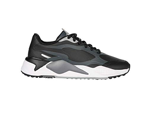 Puma Men's Rs-G Golf Shoe, Puma Black-Quiet Shade-Dark Shadow, 7