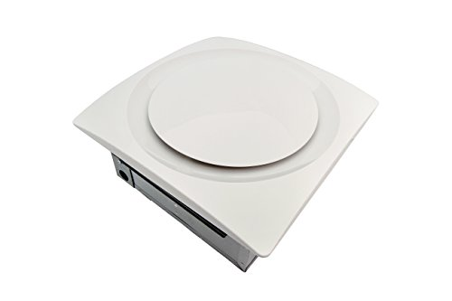 AP120-S G6 W Slim Fit 120-CFM Bathroom Ventilation Fan with White Grille