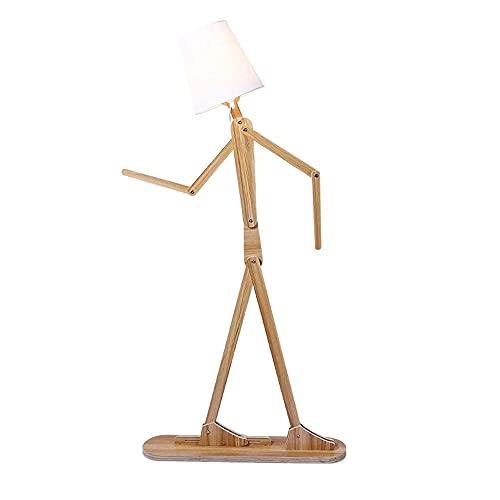 CHENJIA De estilo europeo, lámpara de pie, conveniente for la sala de estar, cocina, comedor, dormitorio, cuarto de baño, pasillo, estudio e iluminación decorativa 78 * 160cm