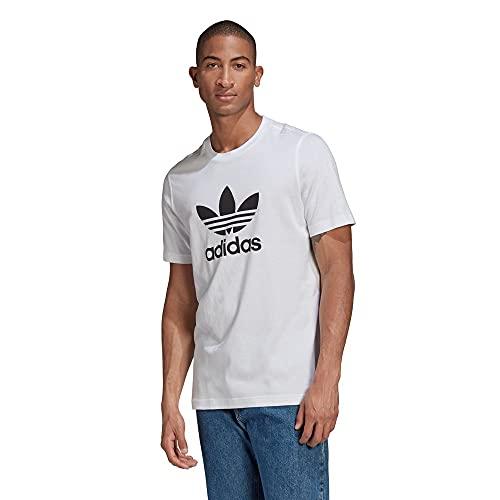 adidas GN3463 Trefoil T-Shirt T-Shirt Uomo White/Black XS