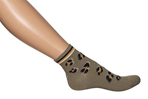 Bonnie Doon Leo Quarter Damen Socken 36/42 (Faded Khaki)