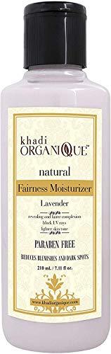 Glamorous Hub Khadi Organique Levander Fairness Loción de hierbas 210 g (el empaque puede variar)