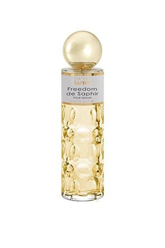 PARFUMS SAPHIR Freedom - Eau de Parfum con vaporizador para Mujer - 200 ml