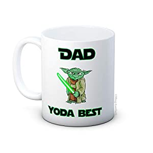 Dad Yoda Best - Star Wars - Taza de Café de Cerámica 3