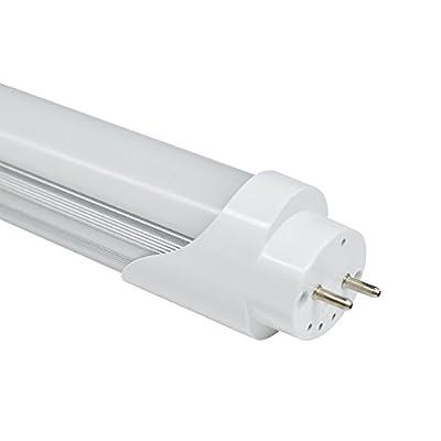 Toika 9W 600MM T8 LED Tube Light LED Bulb , SMD2835 6-7LM/PC 48led/PC 1000LM , AC85-265V, High Brightness, Energy-Saving Lamp for Home Office Buildings Shopping Malls Restaurants Schools