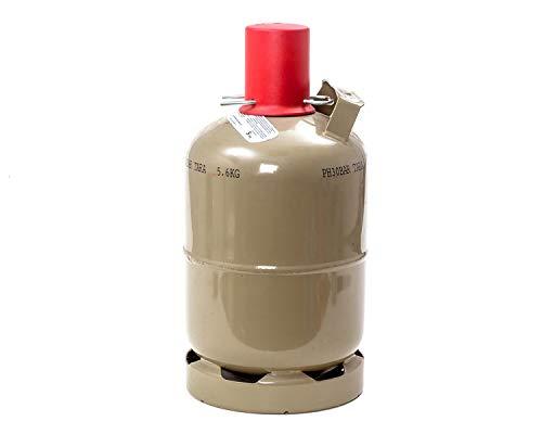 CAGO 5 kg Gas-Flasche Propangas Neu, ungefüllt, leer, für Gasgrill, Gaskocher
