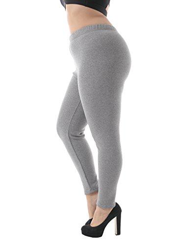 Women's Plus Size 100% Cotton Fleece Lining...