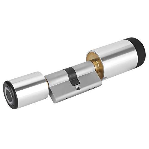 Fingerabdruck Bluetooth Smart Türschloss , Smart Türschloss Elektronischer Zylinder Bluetooth APP Biometrischer Fingerabdruck