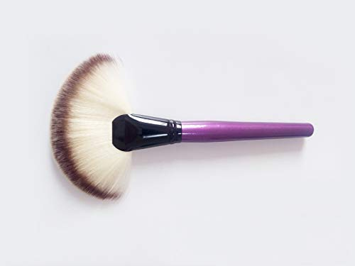 EEvER Augen Make-up Lidschatten für Anfänger Loose Face Brush Sector Make-up Pinsel Make-up...