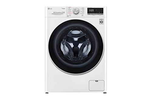 Lavadora secadora inteligente LG F4DN408N0 de 8 Kg y 1.400 rpm