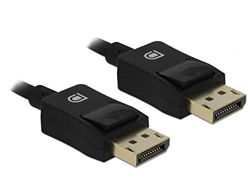 DELOCK coaxiale DisplayPort kabel 8K 60 Hz 2 m