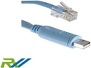 Cisco Compatible Console Cable, 6ft, CAB-CONSOLE-USB-RJ45