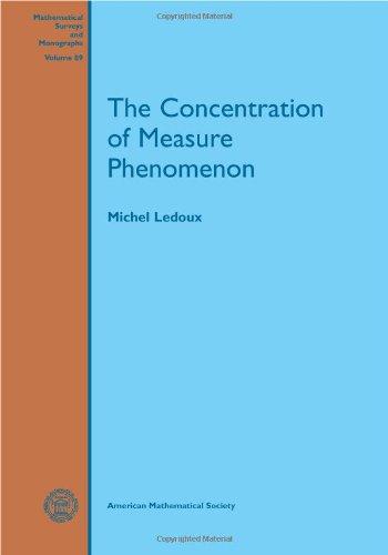 The Concentration of Measure Phenomenon (Mathematical Surveys & Monographs)