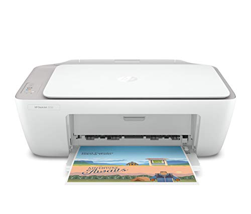 HP Deskjet 2332 Colour Printer, Scanner and Copier for Home/Small Office, Compact Size, Reliable, Easy Set-Up Through HP Smart App On Your Pc Connected Through USB