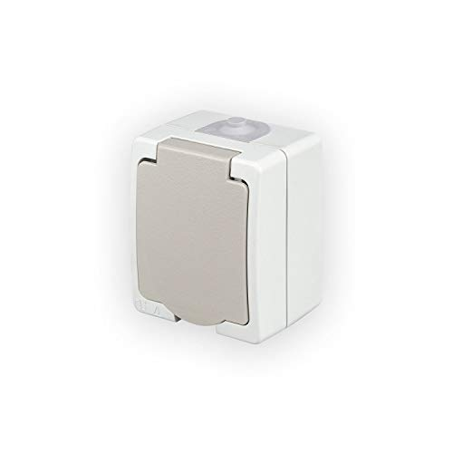POPP Enchufe/Interruptor de (Doble) Superficie estanco (Enchufe, Pack 5)
