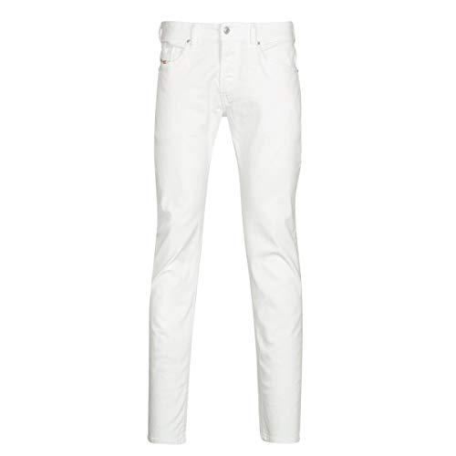 Diesel Herren Thommer Jeans, Bright White, 36