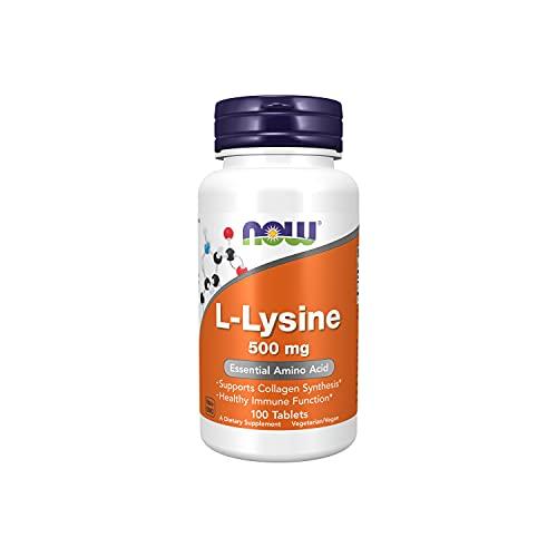 Now Foods L-Lysine 500mg Standard - 100 tabletas