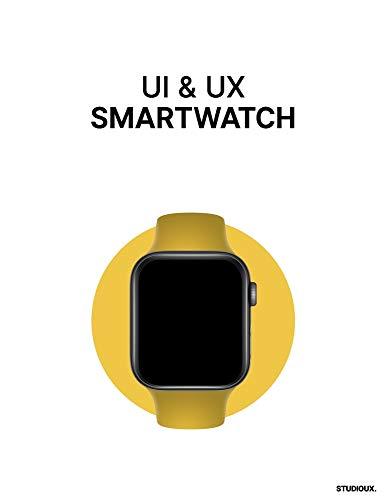 UI & UX Smartwatch: UI & UX Wireframing Mockups Smartwatch prototyping.