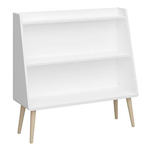 Steens GAIA (Bücher-)Regal für das Kinder-/Jugendzimmer, MDF Holz in Weiß, breit & robust gebaut