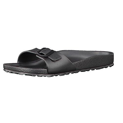 Birkenstock Womens Madrid Eva Open Toe Summer Sandals - Anthracite - 5-5.5