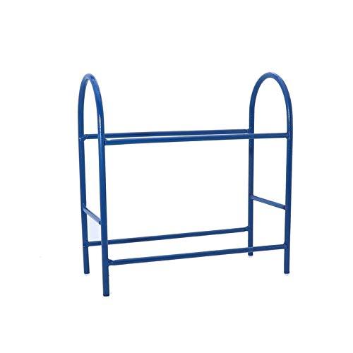 GzxLaY Nuevo Estante de neumáticos de Metal RC para Coche para 1/10 1/8 1/16 Axial Scx10 90046 90047 Rc4Wd D90 TRX-4 Trx4 Tipo de Oruga Tamiya CC01 Repuestos Accesorios ( Color : Blue )