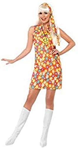 Générique - 353827 - Robe Hippie À Fleurs 60's Taille L