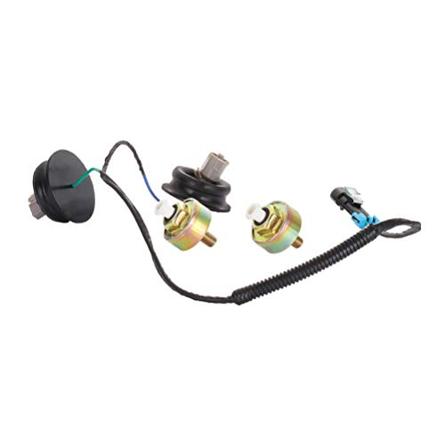 ECCPP Knock Detonation Sensor with Harness Fits for 2001-2006 for GMC Sierra 1500/2500 HD/3500 2003-2007 for Chevrolet Express 1500/2500/3500