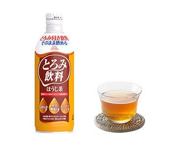 エバースマイル 介護食 とろみ飲料 ほうじ茶 475g 12本セット 嚥下補助