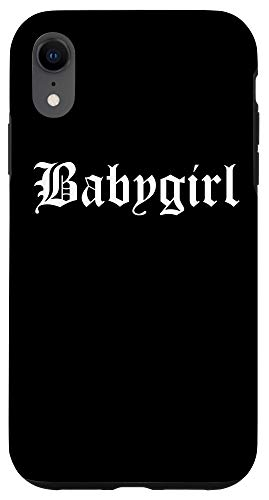 iPhone XR Babygirl Aesthetic E-Girl E-Boy Teens Pastel Goth Clothing Case
