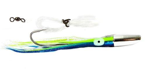 Boone Mahi Jet Rigged Bait, Dark Blue Silver, 6 1/2-Inch