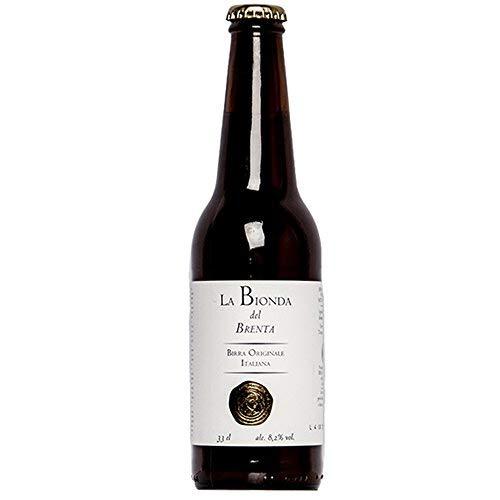 La Bionda del Brenta | Birrificio Valsugana | Fravort | Confezione da 6 Bottiglie da 33cl | Birra Artigianale Italiana