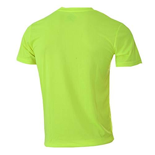Siux Camiseta Dry Amarillo Fluor Negro