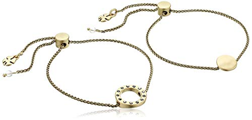 Lucky Brand Damen-Armband-Set, Goldfarbene Kreise, Best Friends, Einheitsgröße
